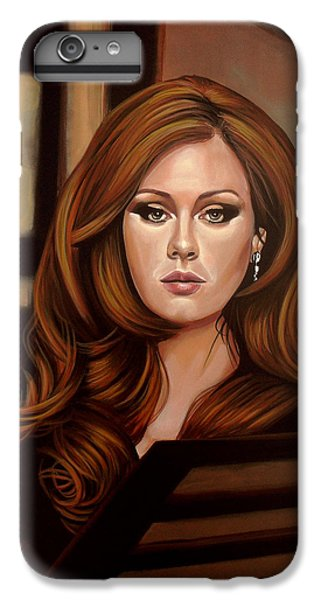 Rhythm And Blues iPhone 6s Plus Case - Adele by Paul Meijering