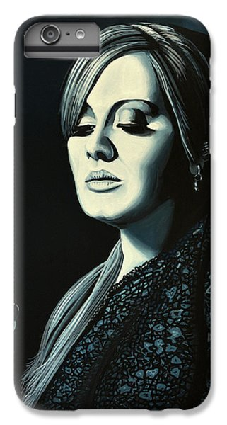 Music iPhone 6s Plus Case - Adele 2 by Paul Meijering