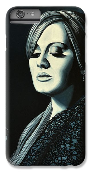 Rhythm And Blues iPhone 6s Plus Case - Adele 2 by Paul Meijering
