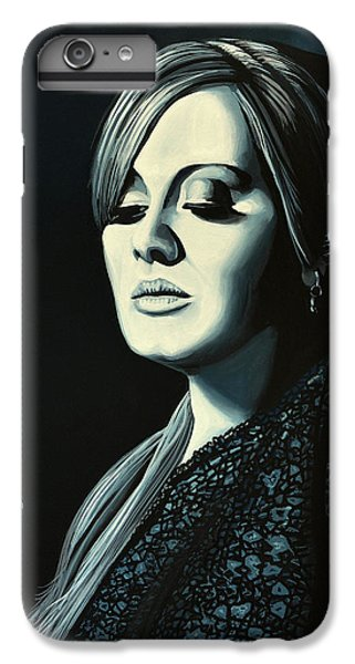 Adele Skyfall Painting IPhone 6s Plus Case by Paul Meijering