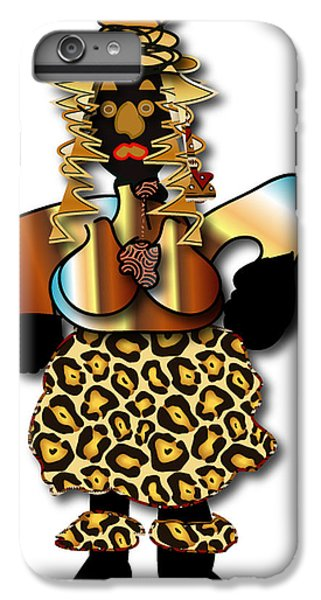 IPhone 6s Plus Case featuring the digital art African Dancer 2 by Marvin Blaine