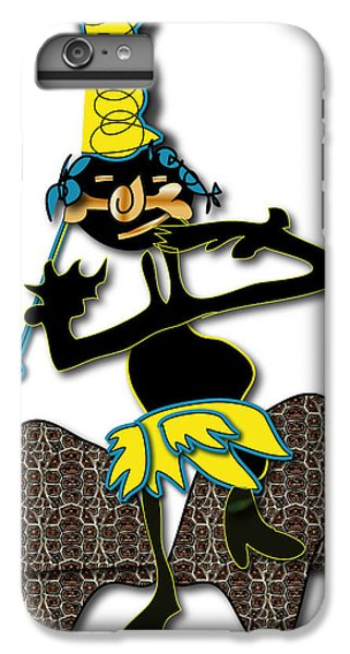 IPhone 6s Plus Case featuring the digital art Tribal Medicine Doctor  by Marvin Blaine