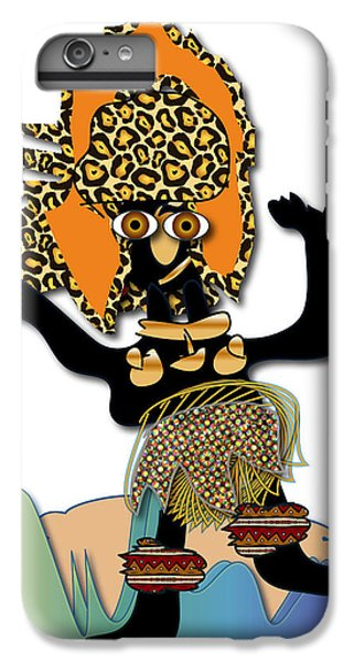 IPhone 6s Plus Case featuring the digital art African Dancer 6 by Marvin Blaine