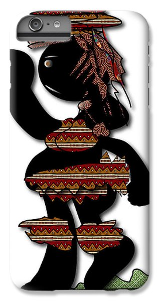 IPhone 6s Plus Case featuring the digital art African Dancer 7 by Marvin Blaine