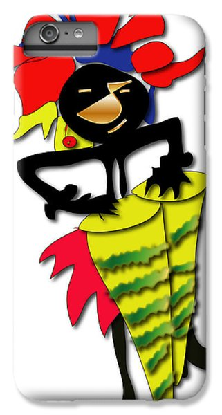 IPhone 6s Plus Case featuring the digital art African Drummer by Marvin Blaine