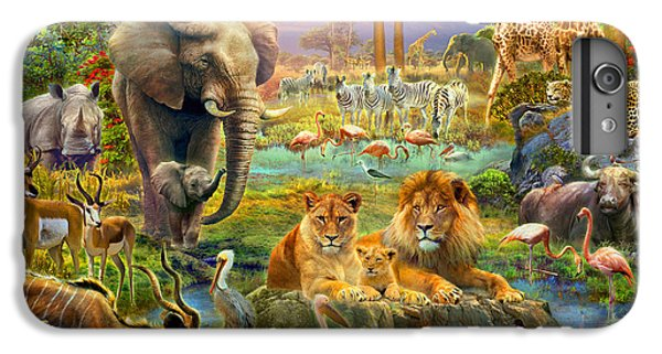 African Watering Hole IPhone 6s Plus Case