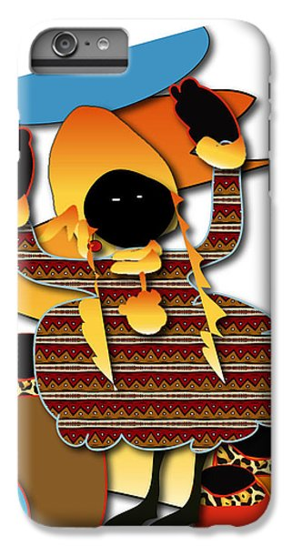 IPhone 6s Plus Case featuring the digital art African Worker by Marvin Blaine