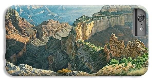 Grand Canyon iPhone 6s Plus Case - Afternoon-north Rim by Paul Krapf