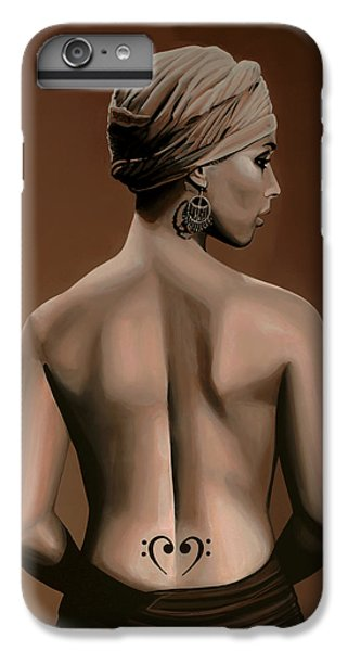 Rhythm And Blues iPhone 6s Plus Case - Alicia Keys  by Paul Meijering
