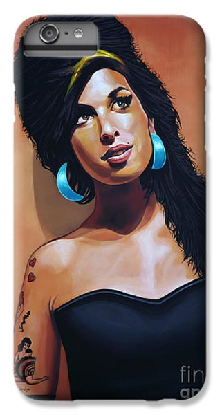 Rhythm And Blues iPhone 6s Plus Case - Amy Winehouse by Paul Meijering