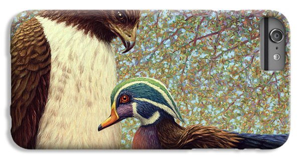 Falcon iPhone 6s Plus Case - An Odd Couple by James W Johnson