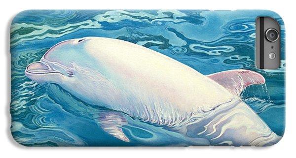 Whale iPhone 6s Plus Case - Angel Of Taiji by Catherine Garneau