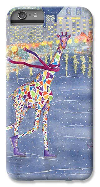 Times Square iPhone 6s Plus Case - Annabelle On Ice by Rhonda Leonard