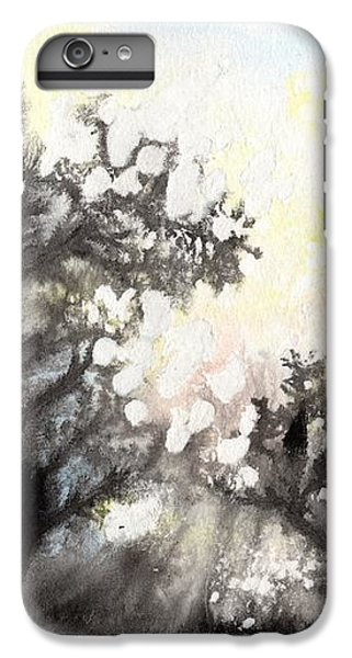 IPhone 6s Plus Case featuring the painting Arbres En Feu by Marc Philippe Joly