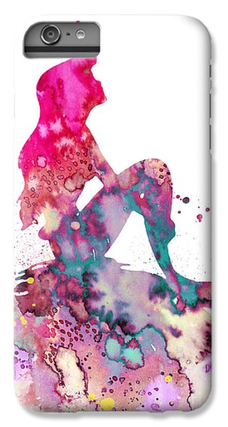 Extinct And Mythical iPhone 6s Plus Case - Ariel 2 by Watercolor Girl