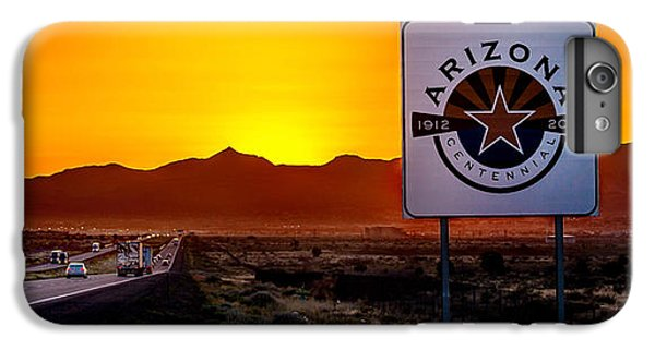 Truck iPhone 6s Plus Case - Arizona Centennial by Az Jackson