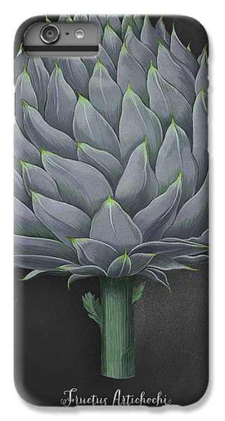 Artichoke Kitchen Art Print IPhone 6s Plus Case