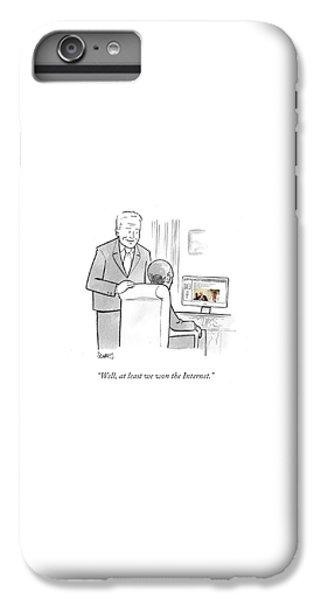 Joe Biden iPhone 6s Plus Case - At Least We Won The Internet by Benjamin Schwartz