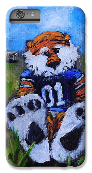 Cow iPhone 6s Plus Case - Aubie With The Cows by Carole Foret