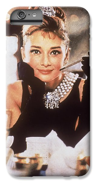 Audrey Hepburn iPhone 6s Plus Case - Audrey Hepburn by Georgia Fowler