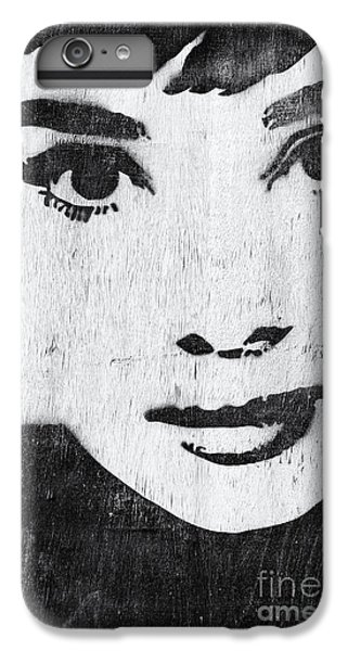 Audrey Hepburn iPhone 6s Plus Case - Audrey Hepburn by Tim Gainey