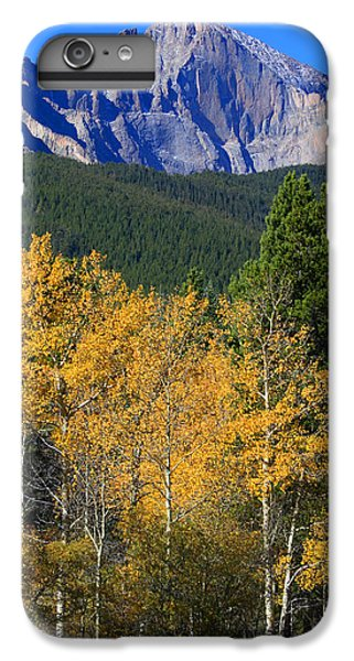 Autumn Aspens And Longs Peak IPhone 6s Plus Case by James BO  Insogna