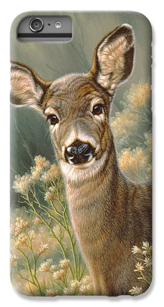 Deer iPhone 6s Plus Case - Autumn Fawn-blacktail by Paul Krapf