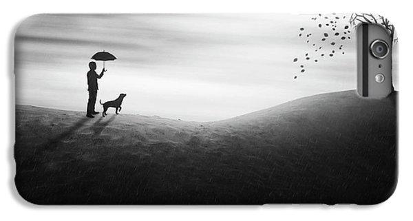 Umbrella iPhone 6s Plus Case - Autumn by Ivan Marlianto