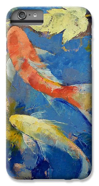 Autumn Koi Garden IPhone 6s Plus Case