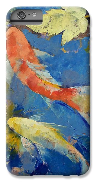 Autumn Koi Garden IPhone 6s Plus Case by Michael Creese