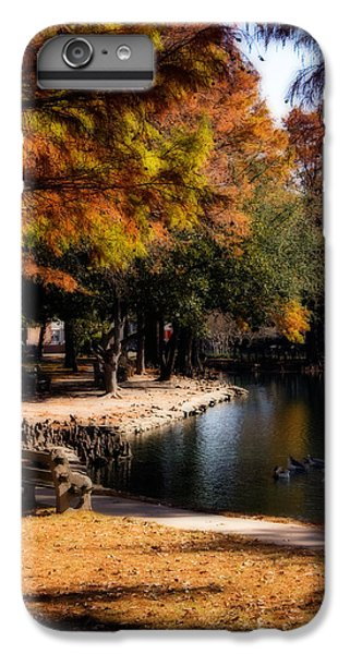 Oklahoma University iPhone 6s Plus Case - Autumn On Theta by Lana Trussell