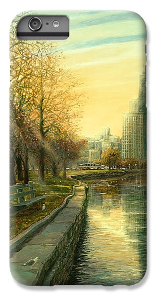 Hancock Building iPhone 6s Plus Case - Autumn Serenity II by Doug Kreuger
