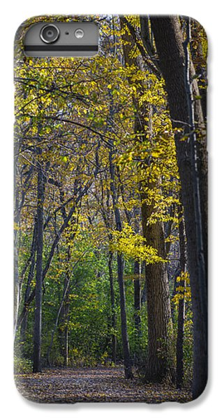 IPhone 6s Plus Case featuring the photograph Autumn Trees Alley by Sebastian Musial