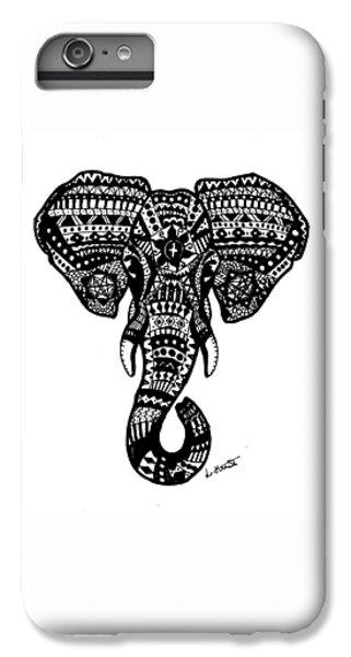 Aztec Elephant Head IPhone 6s Plus Case