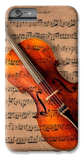 Violin iPhone 6s Plus Case - Bach On Cello by Sheryl Cox