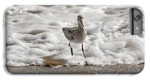 Sandpiper iPhone 6s Plus Case - Back To Safety  by Betsy Knapp