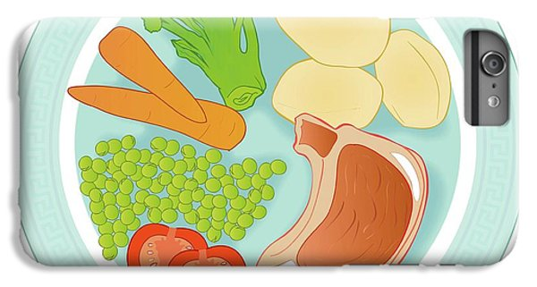 Balanced Meal IPhone 6s Plus Case by Jeanette Engqvist