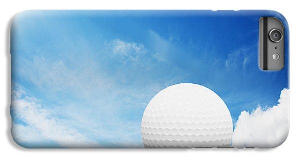 Ball On Tee On Green Golf Field IPhone 6s Plus Case by Michal Bednarek