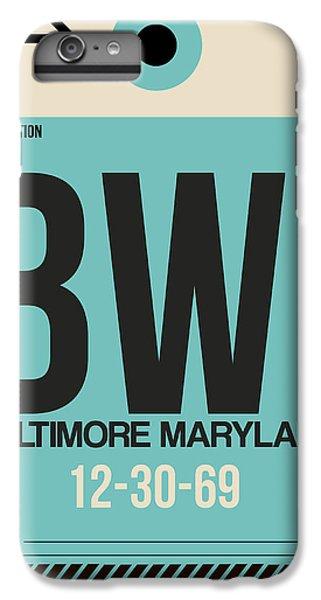 Baltimore Airport Poster 1 IPhone 6s Plus Case