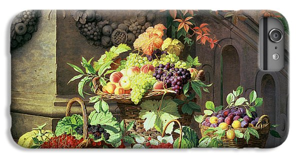 Baskets Of Summer Fruits IPhone 6s Plus Case by William Hammer