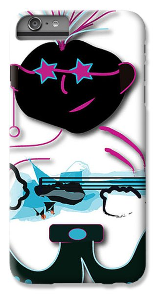 IPhone 6s Plus Case featuring the digital art Bass Man by Marvin Blaine