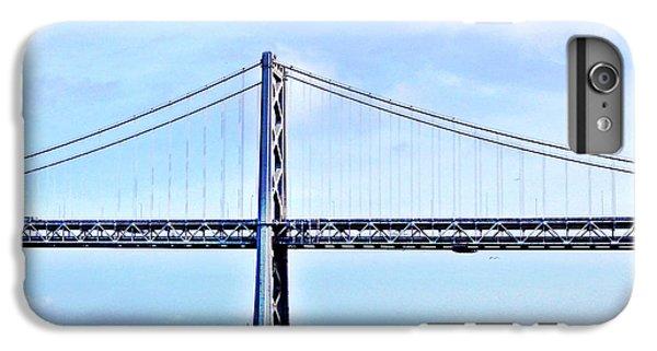 Place iPhone 6s Plus Case - Bay Bridge by Julie Gebhardt
