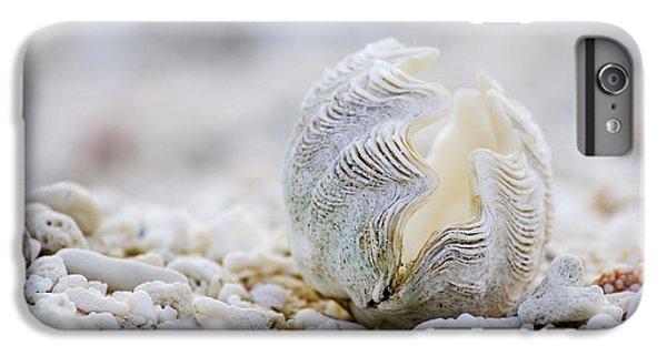 Beach iPhone 6s Plus Case - Beach Clam by Sean Davey