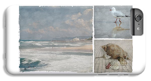 Beach Triptych 1 IPhone 6s Plus Case by Linda Lees