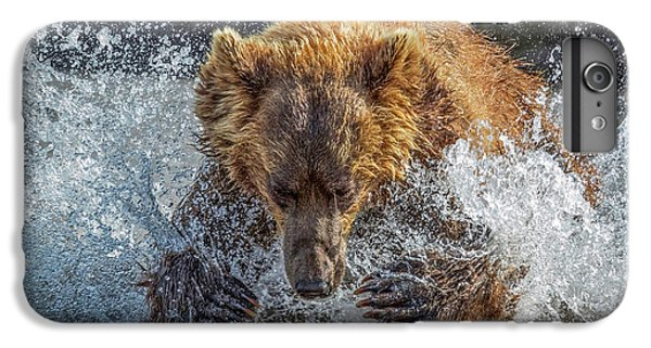 Explosion iPhone 6s Plus Case - Bear Action by Roshkumar