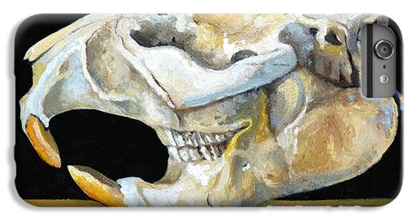 Beaver Skull 1 IPhone 6s Plus Case by Catherine Twomey