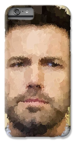 Ben Affleck Portrait IPhone 6s Plus Case by Samuel Majcen