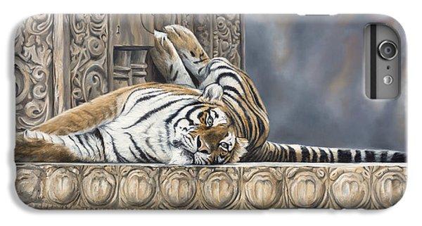 Big Cat IPhone 6s Plus Case by Lucie Bilodeau