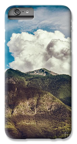 Big Clouds Over The Alps IPhone 6s Plus Case by Silvia Ganora