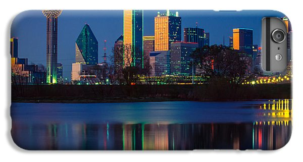 Dallas Skyline iPhone 6s Plus Case - Big D Reflection by Inge Johnsson